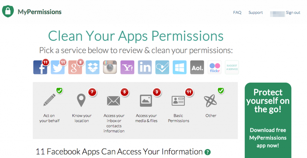 MyPermissions - Example Scan