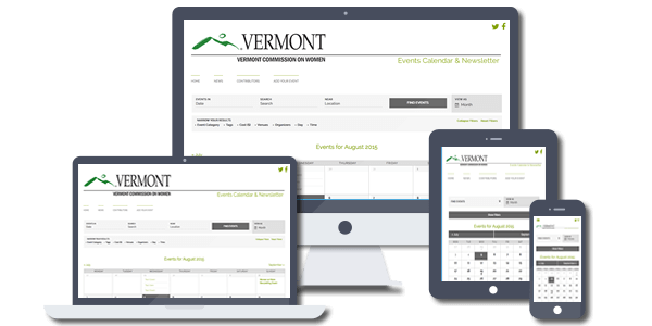 Vermont Commission on Women Calendar & Newsletter