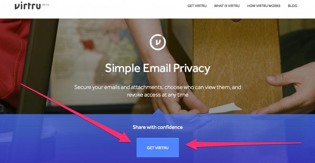 Get Virtru Secure Email