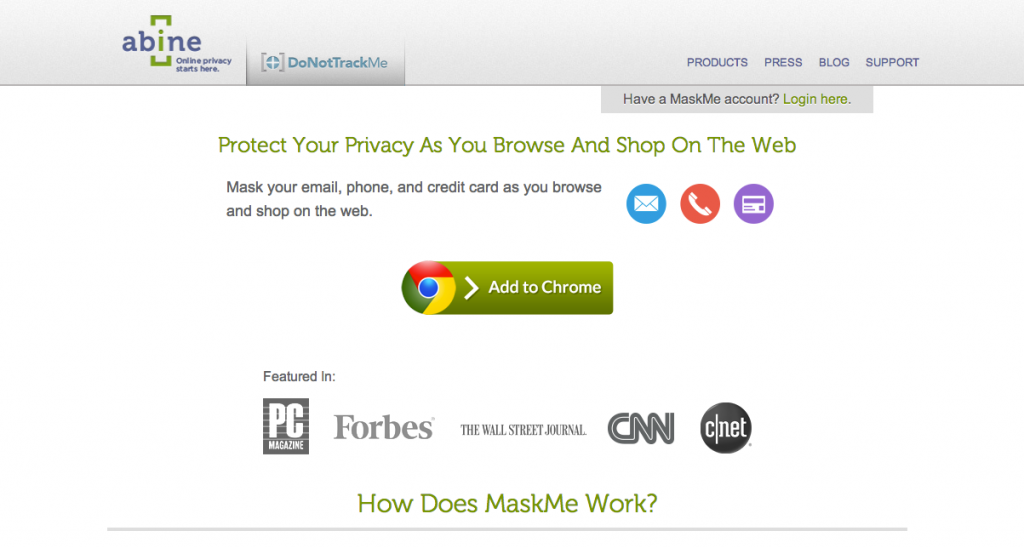 MaskMe Overview
